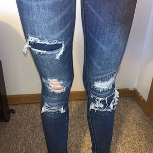 Pants - Ripped jeans